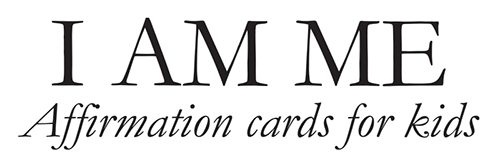 I am me affirmation cards