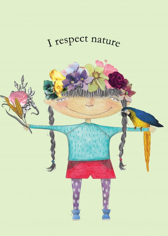 I respect nature